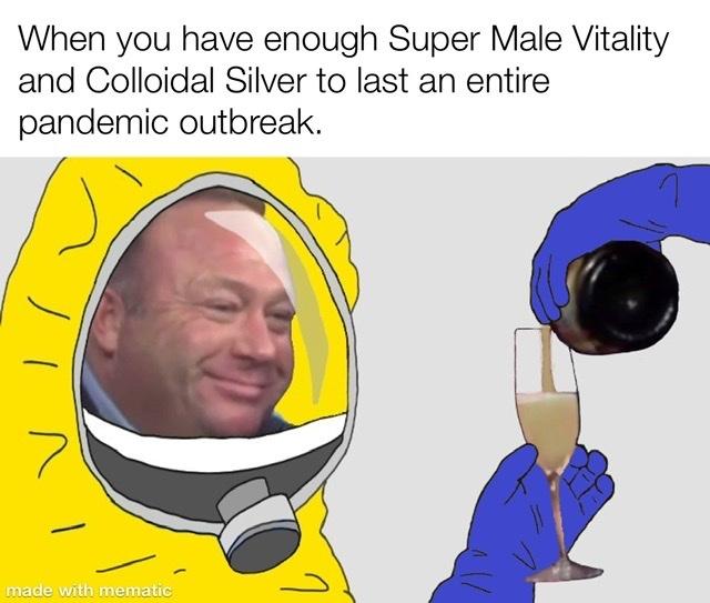 Pandemic season - meme