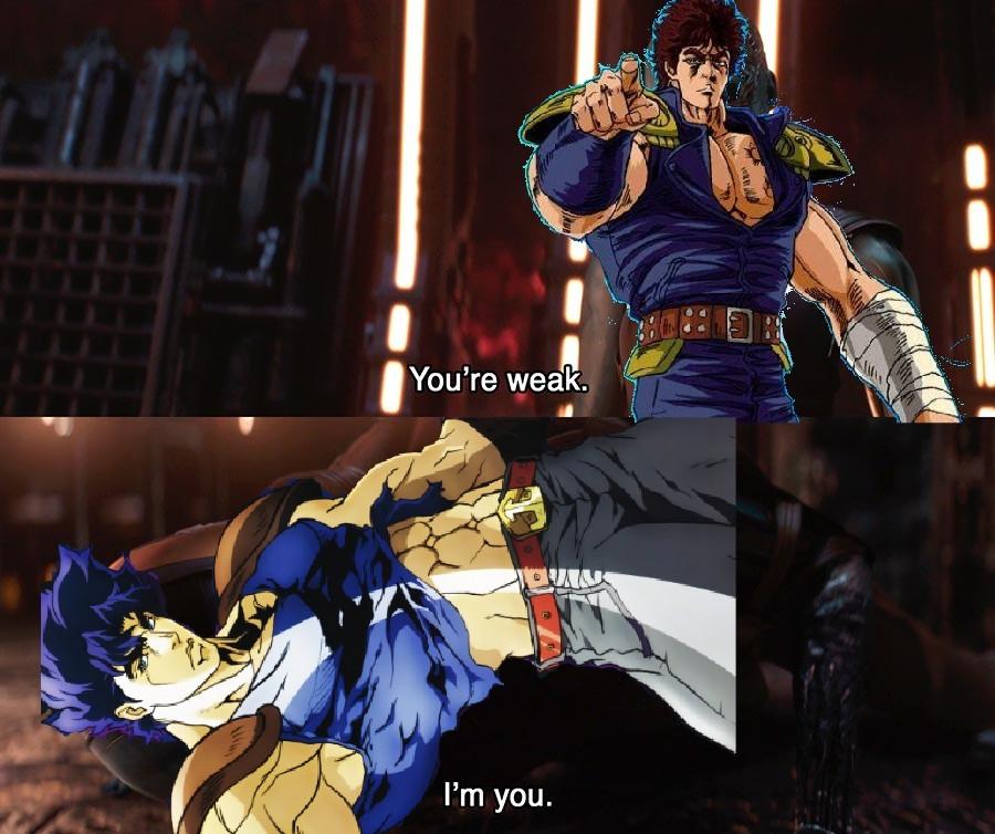 Jonathan Vs Kenshiro - meme