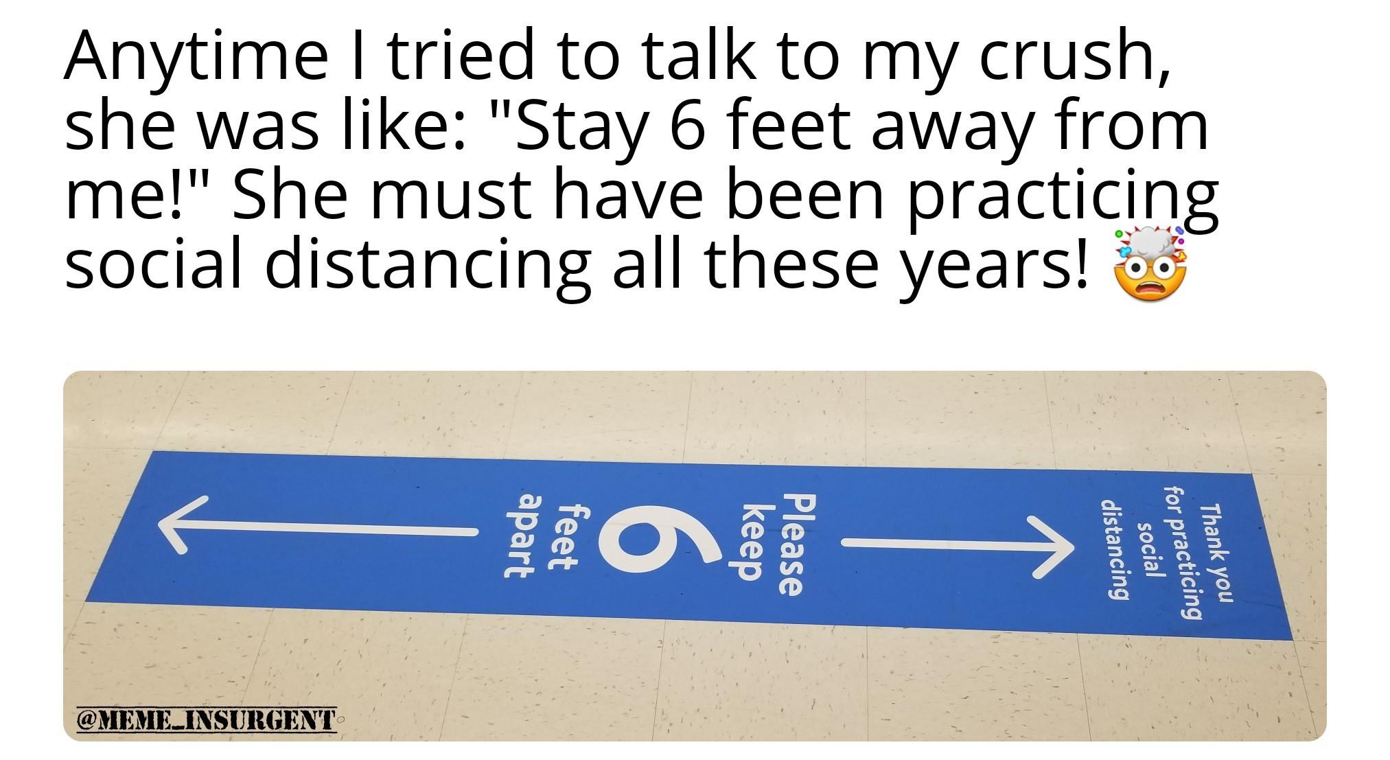 Social Distancing... - meme