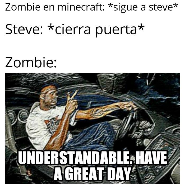 Zombie peruano - meme