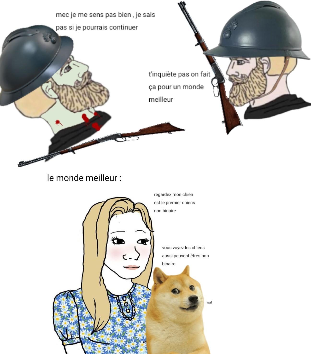 Finalement je préfère le 3eme reich - meme