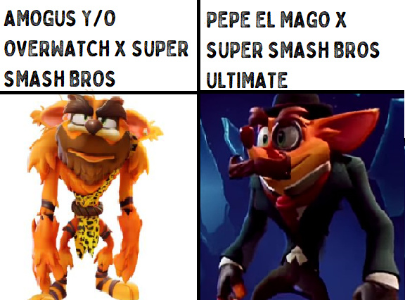 PEPE EL MAGO PARA SMASH - meme