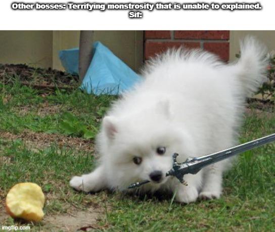 Cute doggo, Sharp  Blado - meme