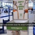 airport jungle juice