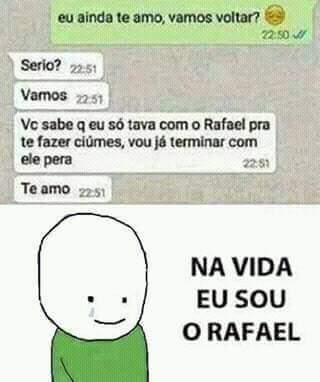 Pobre Rafael - meme