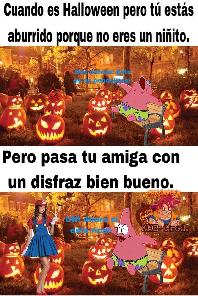 Ya casi es Halloween! :D - meme