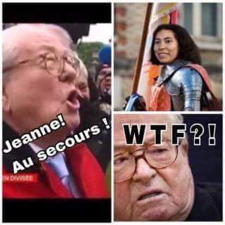 JEANNE AU SECOURS ! - meme