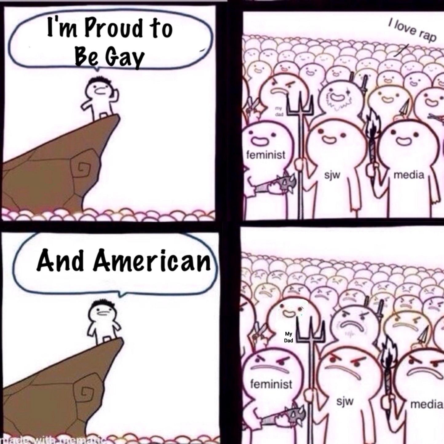 USA.   USA.  USA. - meme