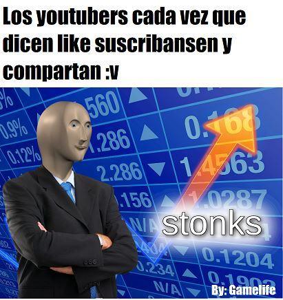 La bieja konfiable de los youtubers  :v - meme
