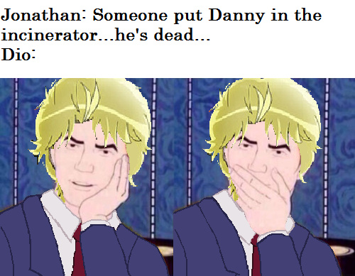 i hate dio with a passion - meme