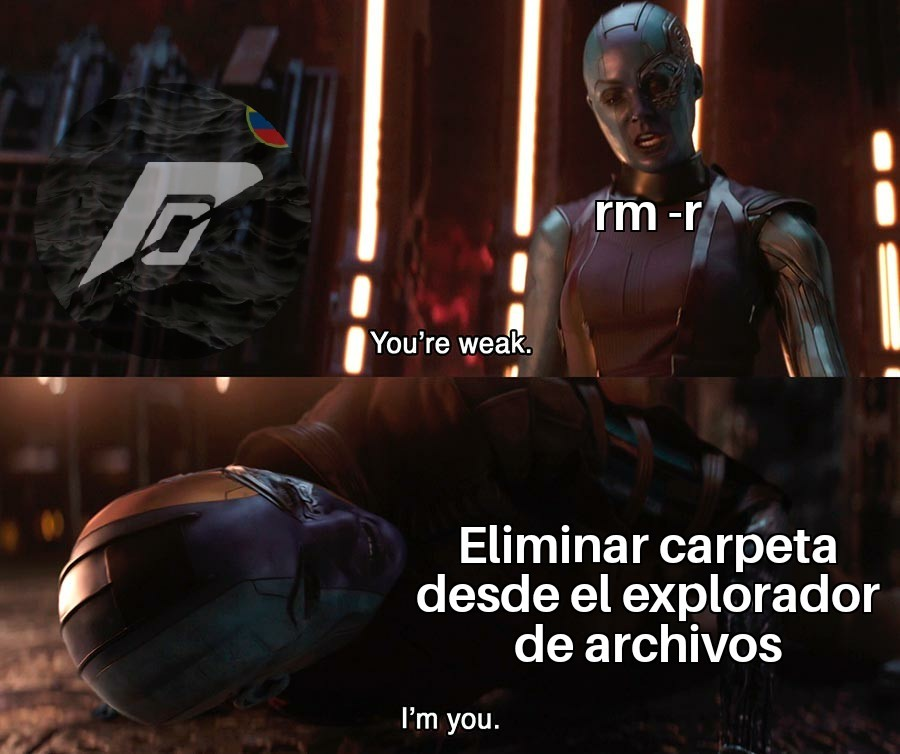 Vacío - meme