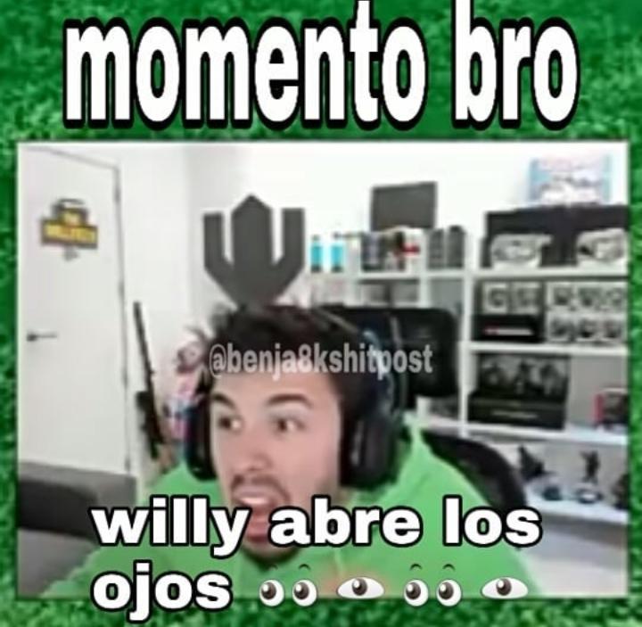 Momento bro - meme