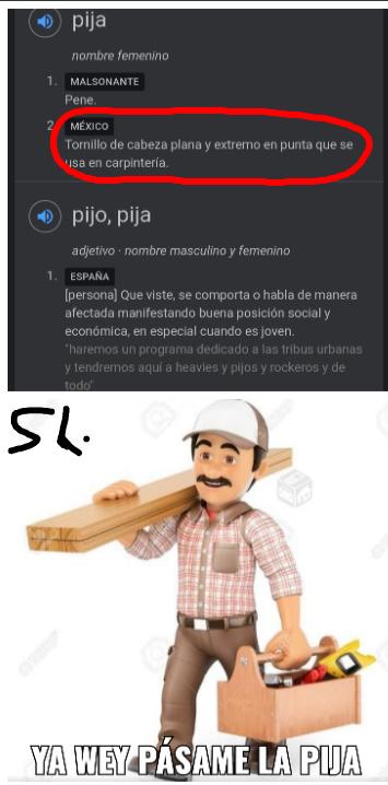Esos mexichangos - meme