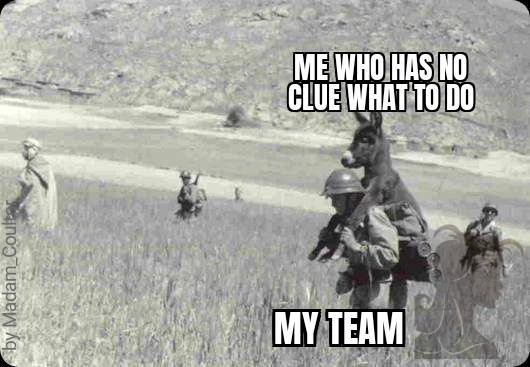 Me in almost every shooter game - meme