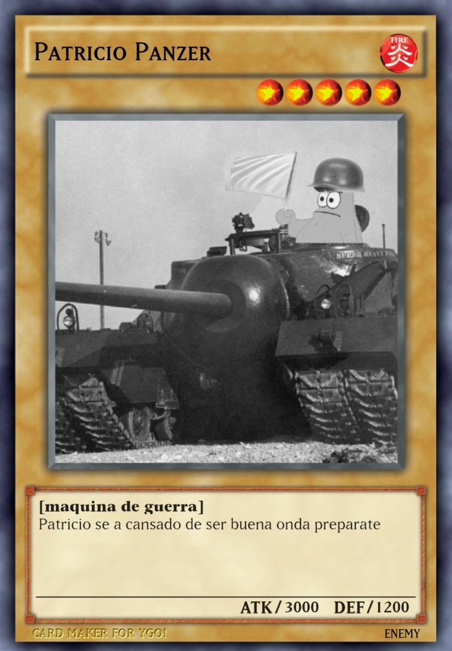 Os presento a praticio panzer - meme