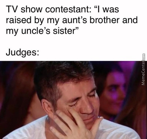 And here is the golden buzzer - meme