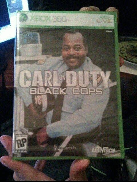 Carl on duty black ops - meme