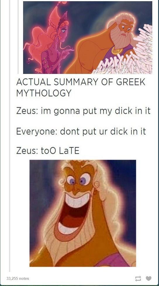 Zeus + mouse = pikachu - meme