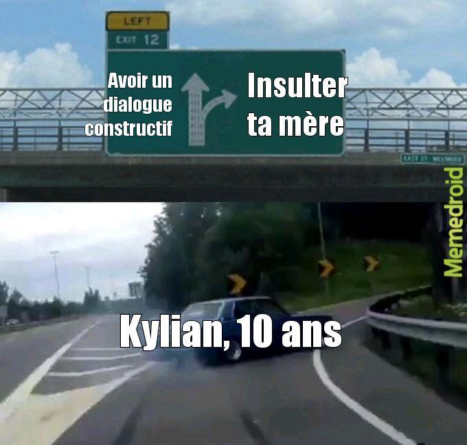 Sacré kylian ! - meme