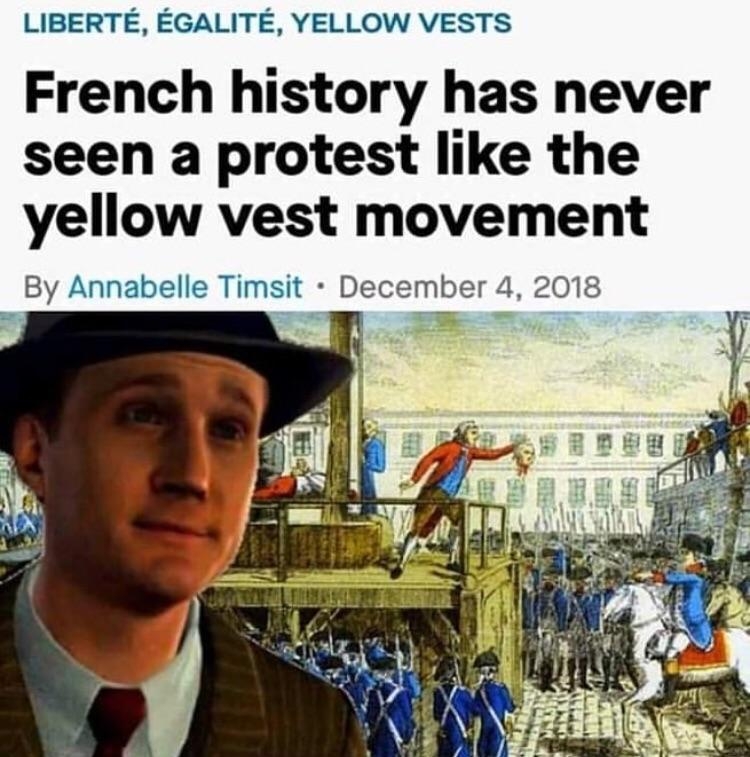 RIP French Revolution - meme