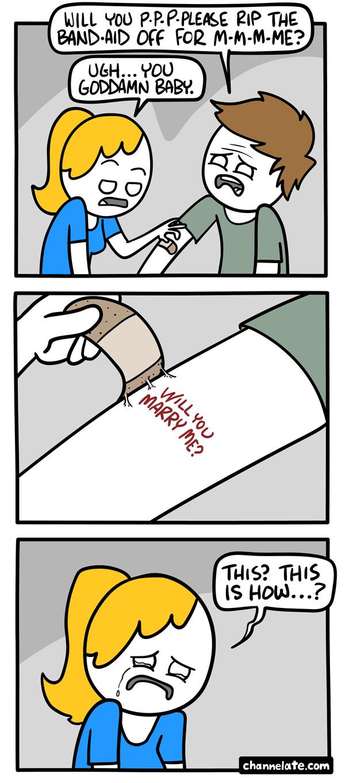 band-aid - meme