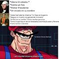 Hay un meme paresido pero sin el 4 parallel universes ahead of you donde compara a Simon Bolivar con Goerge Washington, por fa buscenlo y si el autor lo considera copia violenme a negativos