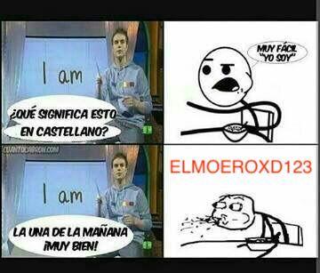 AMO CASTELLANO - meme