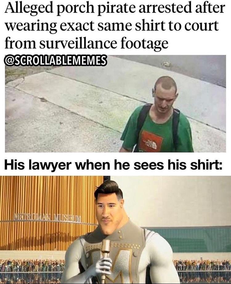 you couldn't wear a suit? - meme