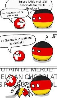 La Suisse à le meilleur chocolat ! - meme