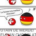 La Suisse à le meilleur chocolat !