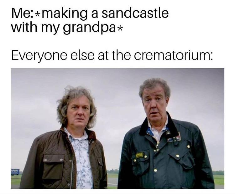 one last sand castle - meme