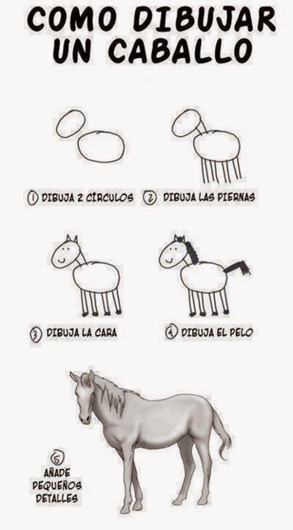 Como dibujar un caballo - meme