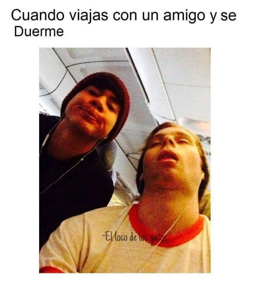 Selfi, por dormirte puto >:v - meme