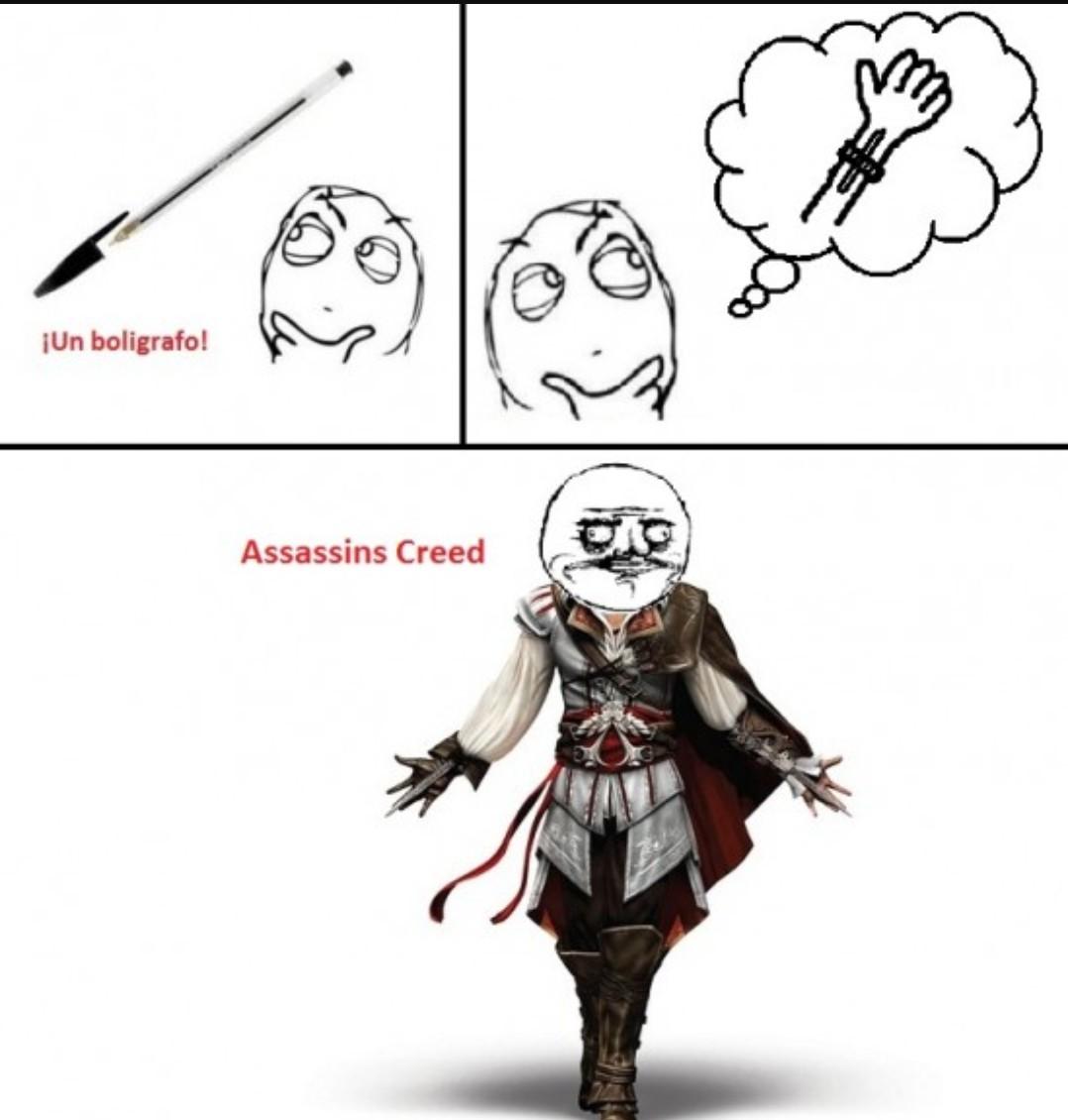 Assassin's Creed - meme