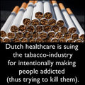 Dutch Gov vs Tobacco