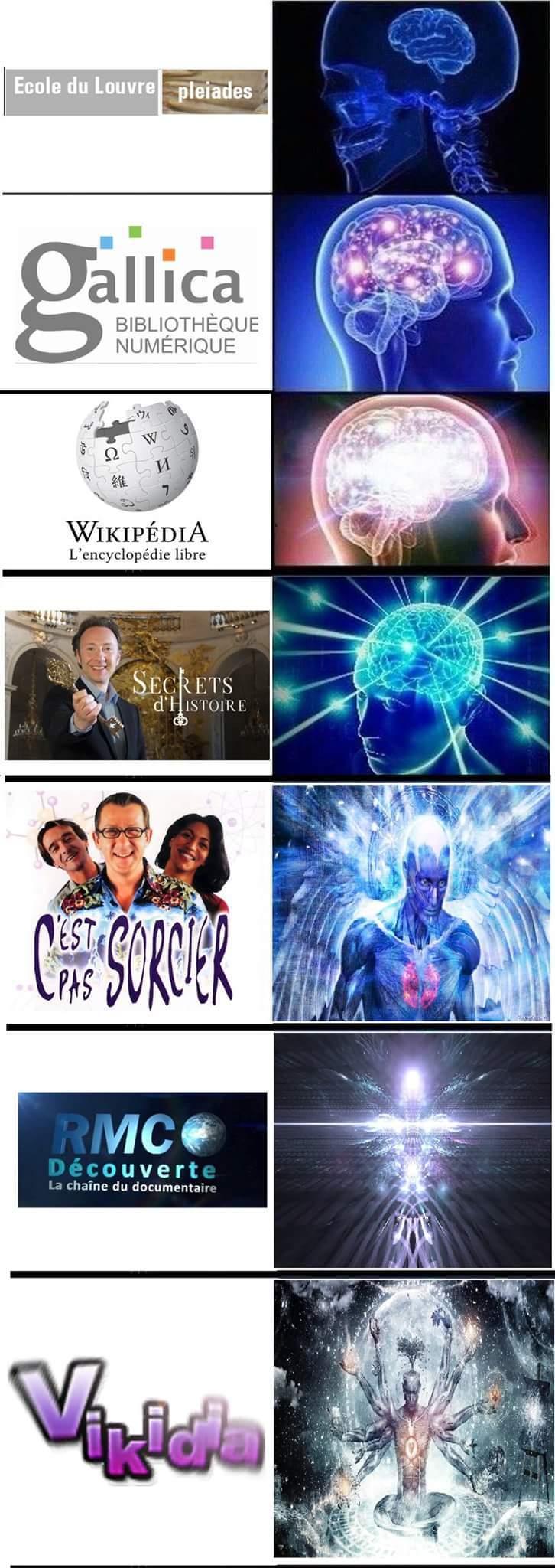 Le savoir - meme