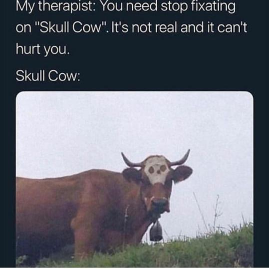*Muffled MoOOo from the window* - meme