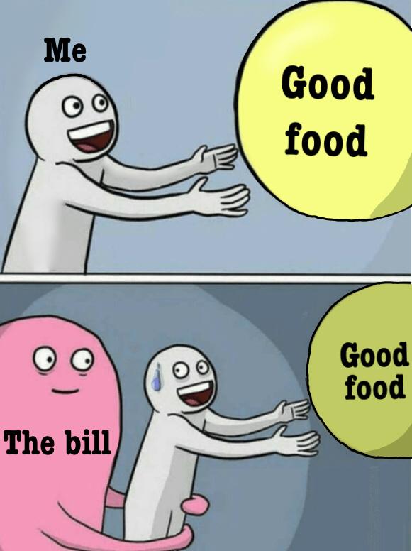 I'm hungry - meme