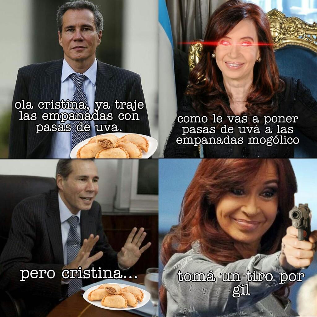 empanadas de nisman - meme