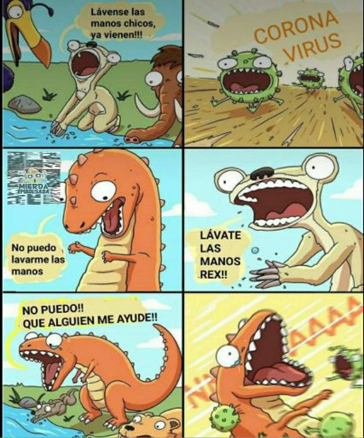 No T-Rex!!!! - meme