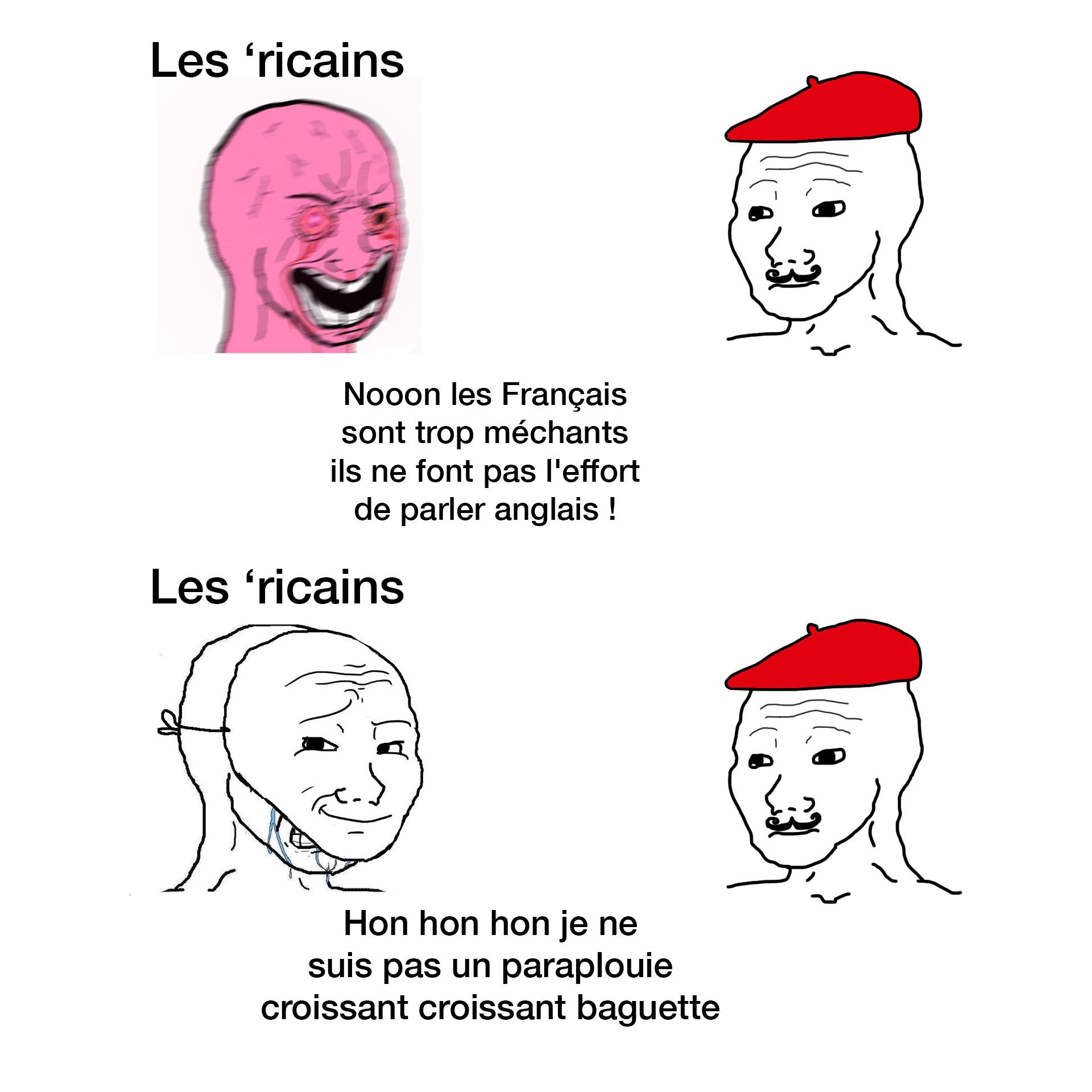 Spécial dédicace aux suceurs d'américains - meme
