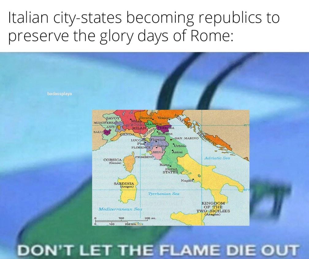 Don't worry guys, America's got your back - meme