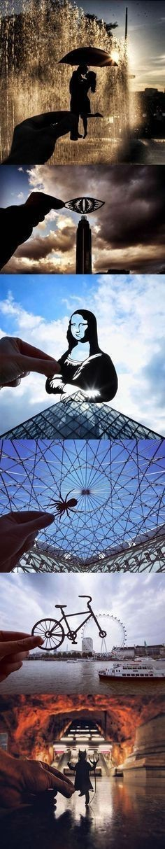 Art created with perspective - meme
