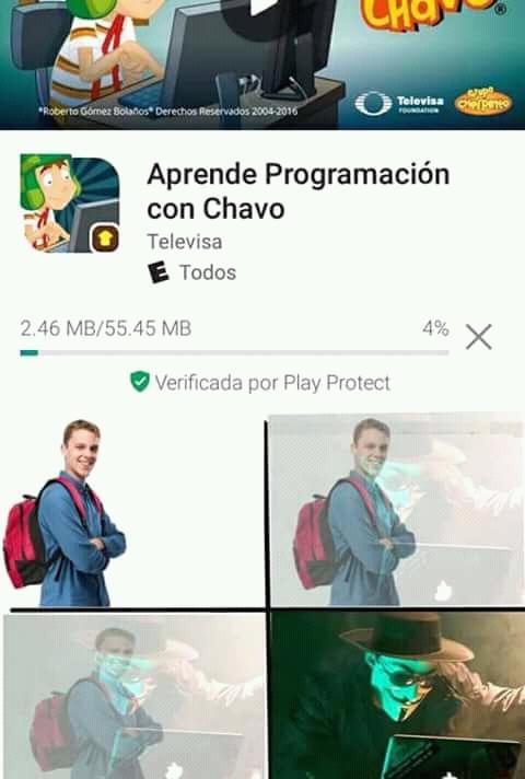 Hacker :v - meme