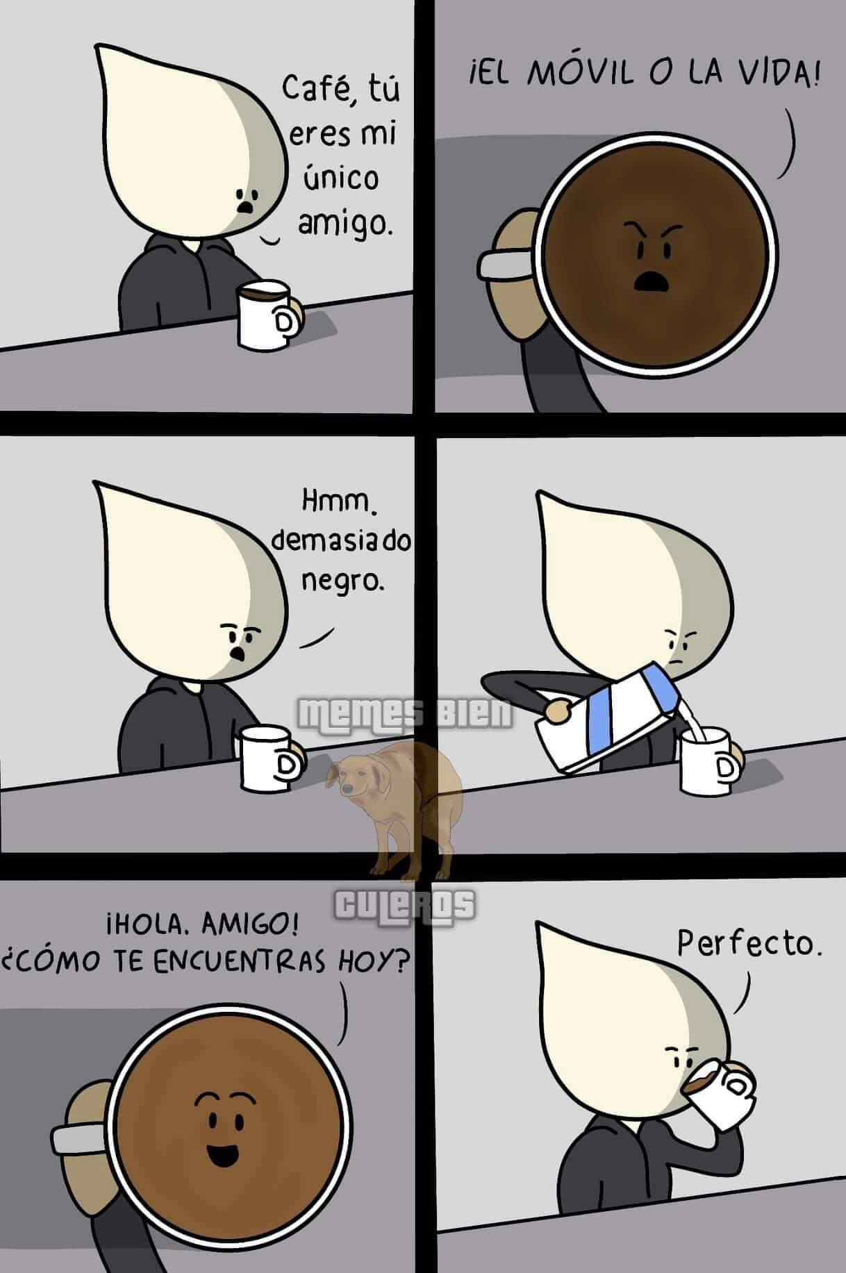 Café negro - meme