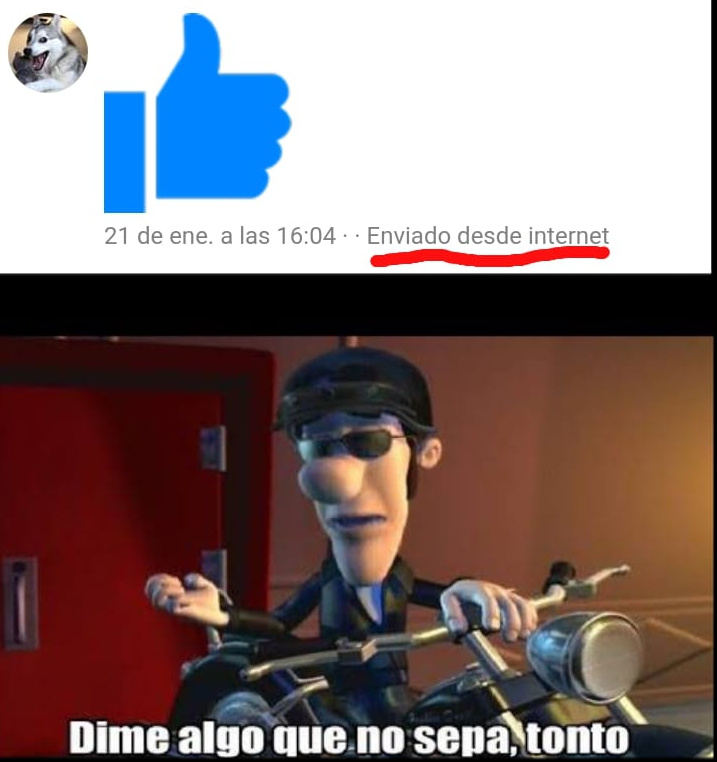 No me digas - meme