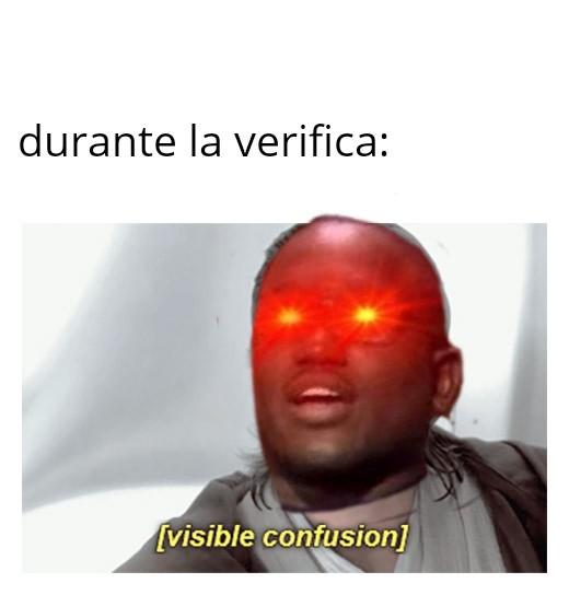 La verifica di franceseeeeeee - meme