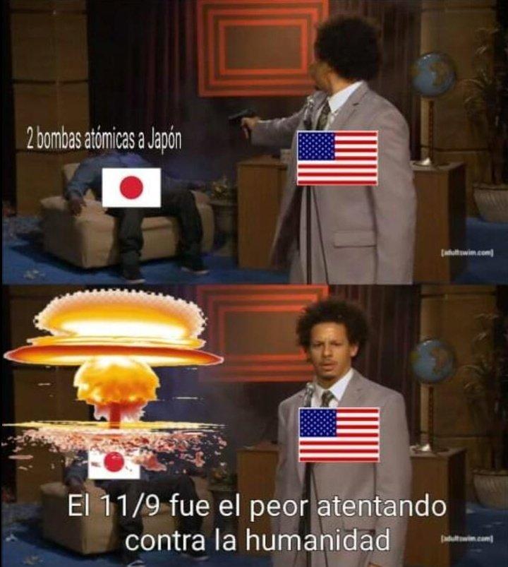 Gringos hipócritas - meme