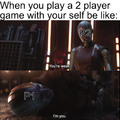 2 player games with your self