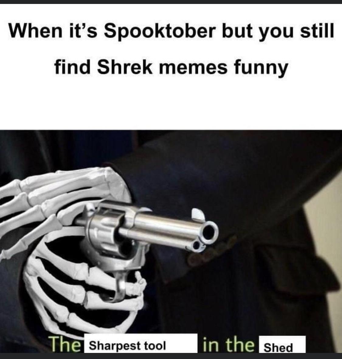 spooked - meme